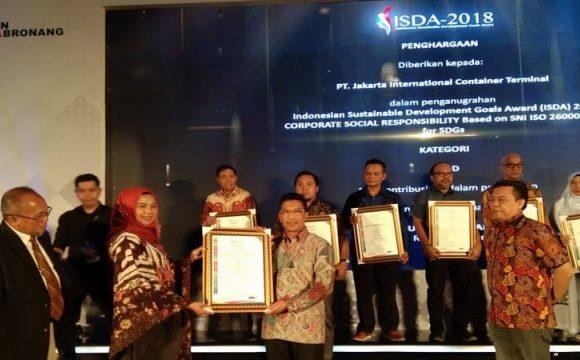 ExxonMobil Raih Penghargaan Emas ISDA 2018