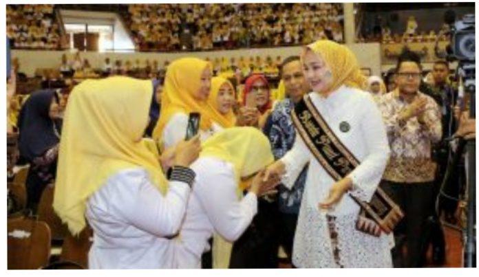 Bunda PAUD Riana Sari Arinal Apresiasi Pelatihan Akbar 3000-an Guru PAUD se-Lampung
