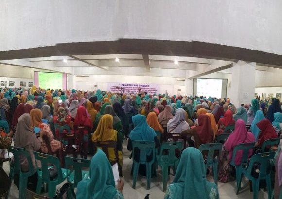 Ribuan Guru TK Dan PAUD di Kota Lhokseumawe Ikut Pelatihan Akbar PHBK