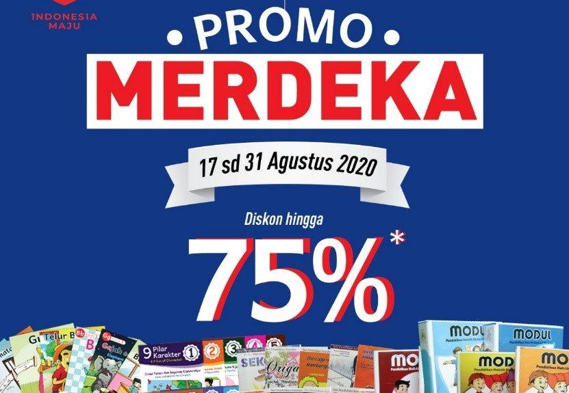 Promo Merdeka! Promo Toko Karakter Bulan Agustus 2020