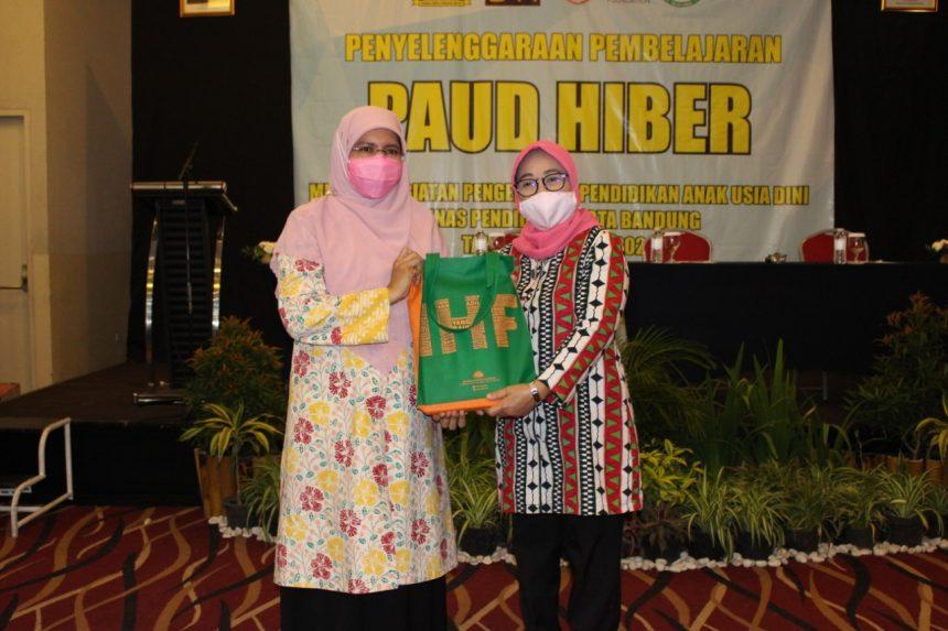 DISDIK KOTA BANDUNG DAN INDONESIA HERITAGE FOUNDATION (IHF) TEKEN MOU PELATIHAN PEMBELAJARAN PAUD