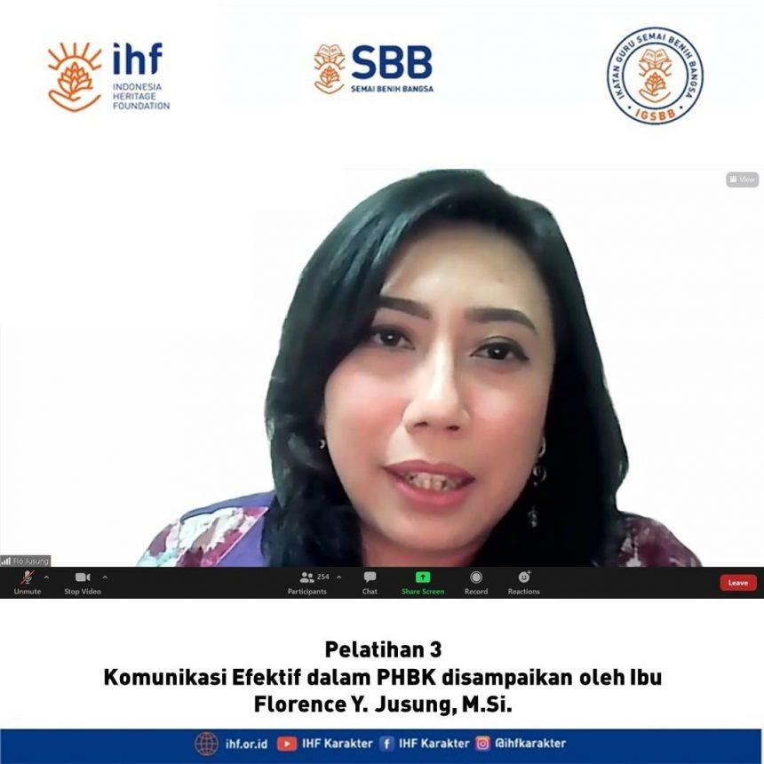 PEMBINAAN KE-3 PROGRAM SBB AKBAR: KOMUNIKASI EFEKTIF DALAM PENDIDIKAN HOLISTIK BERBASIS KARAKTER (PHBK)