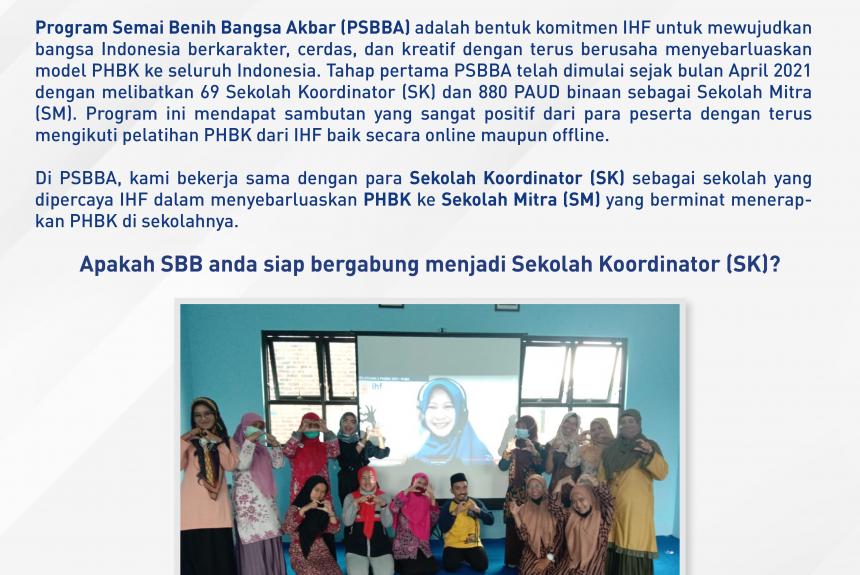 Program Semai Benih Bangsa Akbar (PSBBA)